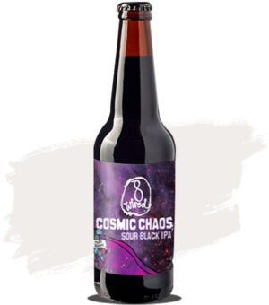 8 Wired Cosmic Chaos Sour Black IPA
