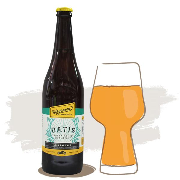 Wayward Brewing Oatis IPA
