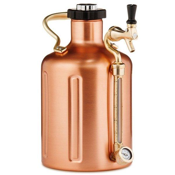 Beer Growler Copper 128