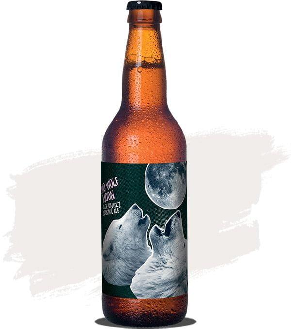 Moon Dog Two Wolf Moon Sloe Gin Fizz Cockail ale