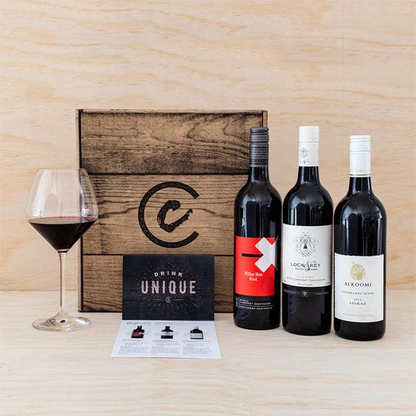 aussie red trio wine pack