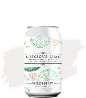 Wildspirit Luscious Lime Alcoholic Sparkling Water
