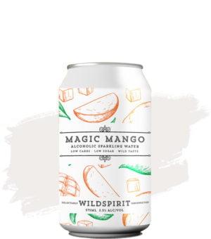 Wildspirit Magic Mango Alcoholic Sparkling Water