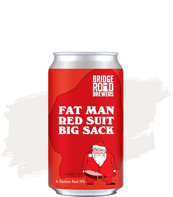 Bridge Road Fat Man Red Suit Big Sack IPA
