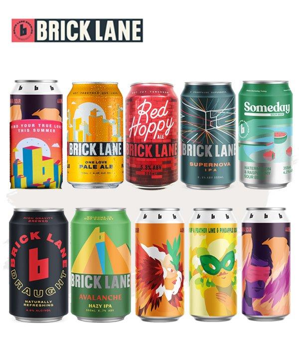 Brick Lane Brewing Co. Pack 1