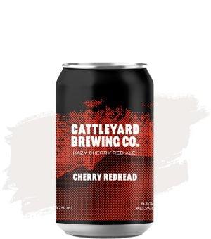 Cattleyard Cherry Redhead Hazy Red Ale