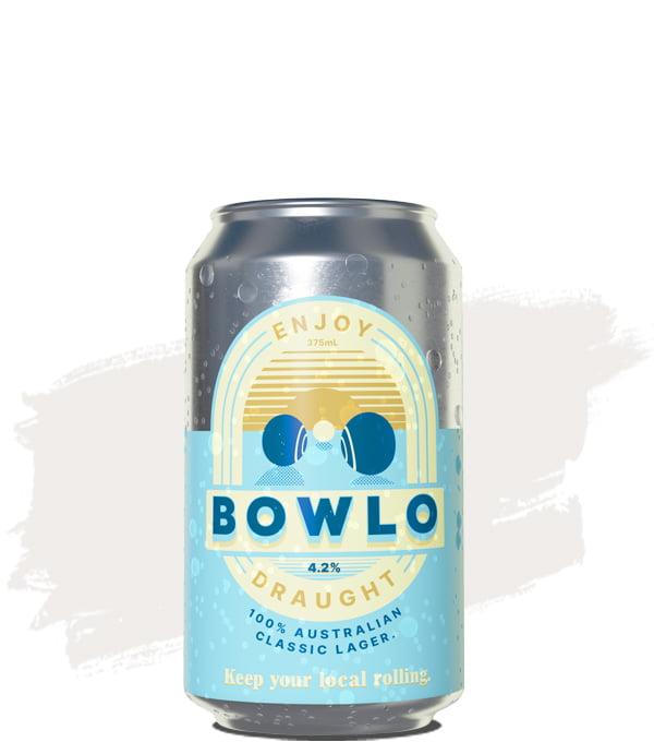 Bowlo Draught Australian Classic Lager