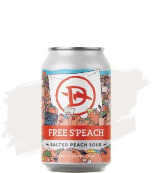 Dainton Free S'Peach Salted Peach Sour