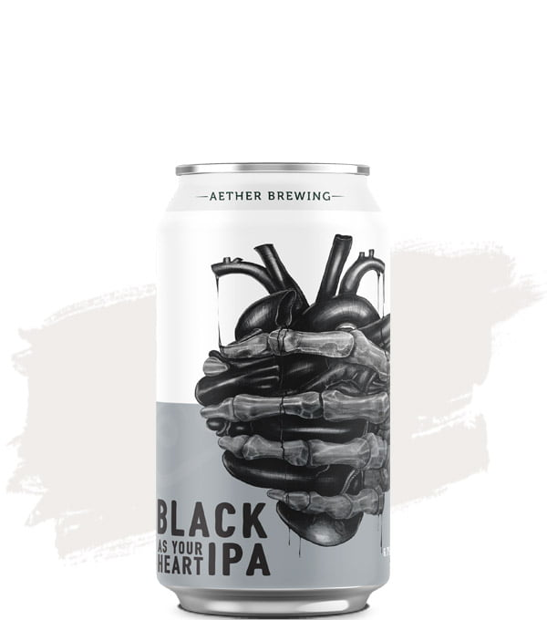 Aether Black As Your Heart Black IPA