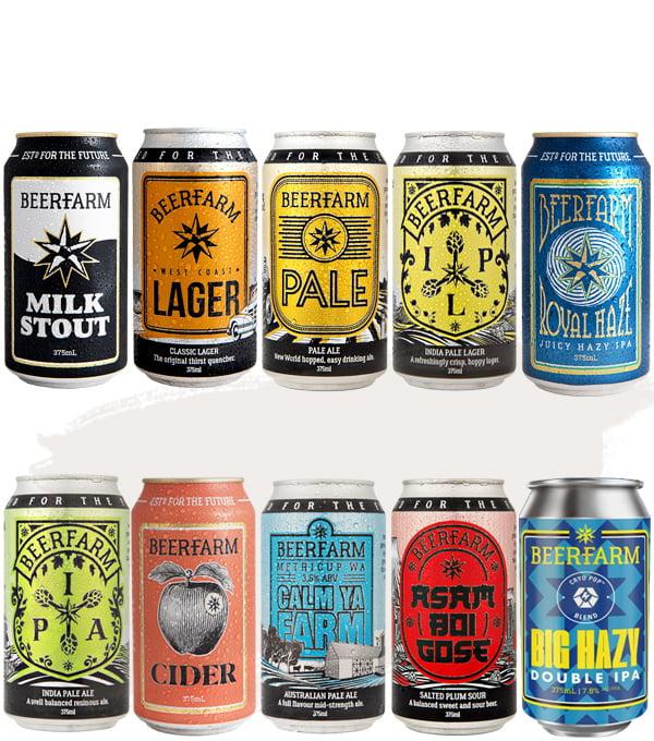 Beerfarm Tasting Flight