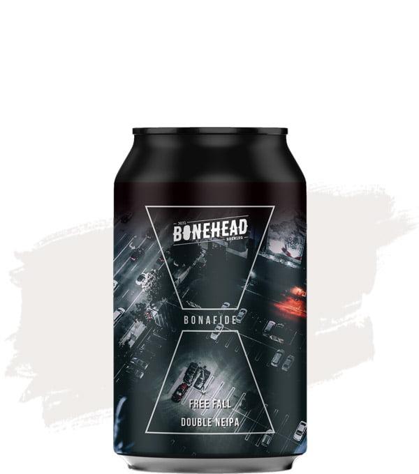 Bonehead Brewing Bonafide Free Fall Double NEIPA