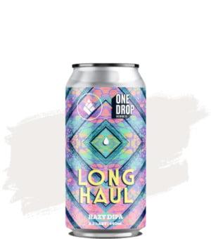 One Drop X Drop Project (UK) Long Haul Hazy DIPA