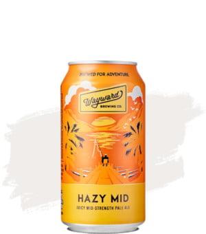 Wayward Hazy Mid Pale Ale